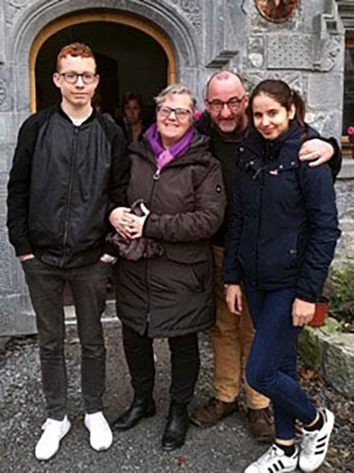 Kelly Host Family